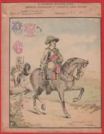 """Protége Cahier Ancien Fin XIXéme Collection L' Armée Française  Depuis François 1er  """" Cavalerie Légére """" - Book Covers"""