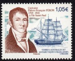 T.A.A.F. // F.S.A.T. 2021 - Bateau Voilier, Cpt Péron - 1 Val Neufs // Mnh - Unused Stamps