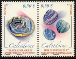 T.A.A.F. // F.S.A.T. 2021 - Minéraux - 2 Val Neufs // Mnh - Unused Stamps
