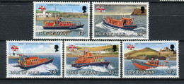 Isla De Man 1991. Yvert 493-97 ** MNH. - Man (Insel)
