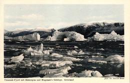 Grönland, Umanak-Fjord Mit Eisbergen Und Nugsuak`s Gebirge, Phot. Dr. Arnold Heim - Groenlandia