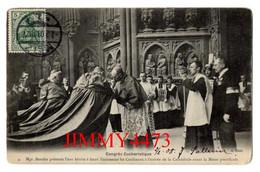 CPA  METZ 57 Moselle - Congrès Eucharistique 1908 Mgr. Benzler Présente L'eau Bénite à Leurs Eminences Les Cardinaux N°4 - Metz