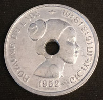 LAOS - 10 CENTS 1952 - Sisavang Vong - KM 4 - Laos