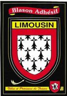 87 LIMOUSIN  . BLASON  ADHESIF . - Unclassified