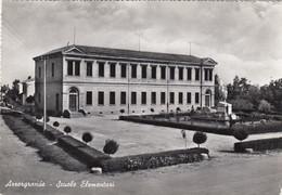 ARZERGRANDE-PADOVA-SCUOLE ELEMENTARI-CARTOLINA VERA FOTOGRAFIA- VIAGGIATA IL 16-7-1963 - Padova