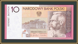 Poland 10 Zlotych 2008 P-179 UNC (in Folder) - Poland