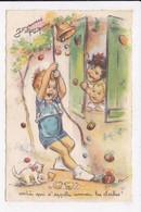 CP ILLUSTRATEUR BOURET Joyeuses Paques - Bouret, Germaine