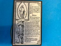 Priez Pour L'âme De Mademoiselle Émerance Carion Née 1795 Deux-Acren Lessines +1879 Deux-Acren Imp Lessines Hainaut - Non Classés