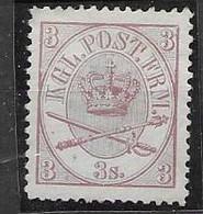 Denmark Mint No Gum 110 Euros 1864 - Ungebraucht