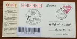 Nurse Medical Operation,CN 20 Fight Against COVID-19 Pandemic Novel Coronavirus Pneumonia Propaganda PMK Used On Card - Malattie