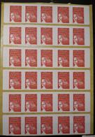 Bande De 3 Carnets 3085a C3 Pour Distributeur Sagem Marianne De 14 Juillet Rouge TVP - Freimarke
