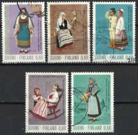 Finland 1973. Mi.Nr. 733-737, Used O - Gebraucht