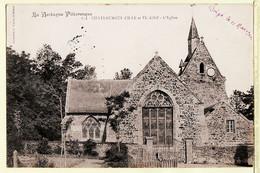 X35052 Tampon Poste Perlé DINGE 11.05.1914 CHATEAUNEUF ILLE Et VILAINE EGLISE à CHASSE Rue Vasselot Rennes WARON 822 - Sonstige Gemeinden