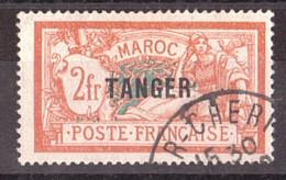 Maroc - 1918/24 - N° 96 Oblitéré - Merson Surchargé Tanger - Usati