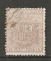 ESP 1874- Yv. N° 151  (o)  10c  Armoirie Cote  1,25 Euro BE  2 Scans - Oblitérés