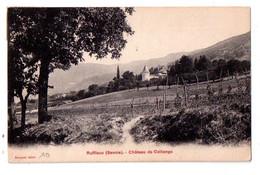 CPA-Savoie- Ruffieux -château De Collonges -voir état - Andere Gemeenten