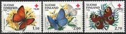 Finland 1990. Mi.Nr. 1110-1112, Used O - Usati