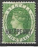 1891 St Lucia  Mh * 85 Euros - St.Lucia (...-1978)