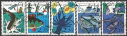 Finland 1991. Mi.Nr. 1134-1138, Used O - Usati