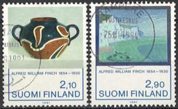 Finland 1991. Mi.Nr. 1146-1147, Used O - Gebraucht