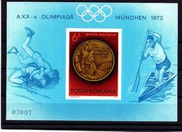 Olympics 1972 - Wrestling - ROMANA - S/S Imp. MNH - Verano 1972: Munich