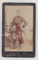 Au Plus Rapide Photo CDV V Mondos Padova Italie Italia Militaire Cavalier Cavalerie - Oorlog, Militair