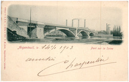 95 ARGENTEUIL - Pont Sur La Seine - Argenteuil