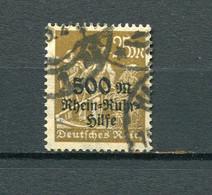 Infla Mi 259 Gest,gepr #dx5260 - Used Stamps
