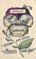 Belgique - Manage - Fantaisie - La Distance Nous Sépare La Pensée Nous Unit - Multi Vues - E3dit. Marcovici - Manage