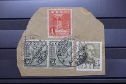 ANDORRE - Affranchissement Mixte Andorre Espagnol / Espagne Sur Fragment En 1951 - L 87551 - Used Stamps