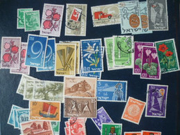 LOT TIMBRES ISRAEL  OBLITERE - Collections, Lots & Séries