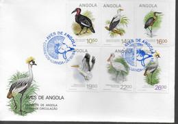 ANGOLA  FDC 1984 Oiseaux - Storchenvögel