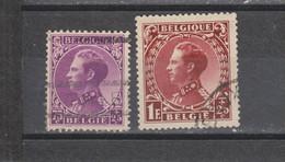 COB 391 / 393 Oblitérés - 1934-1935 Léopold III