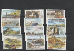 TAAF 1999 N° 248/259 ** Neufs MNH Superbes C 50 € Marko Bateaux Ships Oiseaux Birds Voyages Ports Navires - Neufs