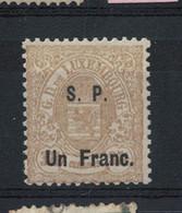 Luxemburg  SP - Service