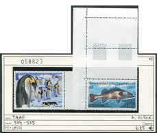 Franz. Antarktis - TAAF - Michel 504-505 - ** Mnh Neuf - 2003 - Pinguin + Cabot - Nuovi