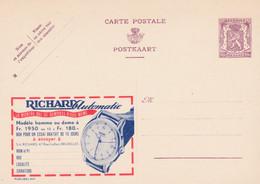 Carte Entier Postal Publibels 947 Montre Richard Automatic - Publibels