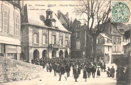 Sarlat - Place De L'Hôtel-de-Ville - Sarlat La Caneda