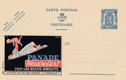 Carte Entier Postal Publibels 498 Panade Heudebert Fait Les Beaux Enfants - Publibels