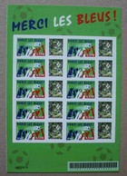 Bac 05 : 2006 Merci Les Bleus (autocollants / Autoadhésifs) - Personnalisés