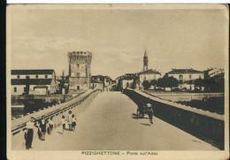 RD986 PIZZIGHETTONE - PONTE SULL'ADDA  1941 - Altre Città