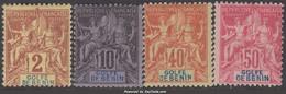 Bénin: 2c 10c 40c 50c Groupe Neuf * TB (Dallay N° 14,17,22,23 Cote 41€ ) - Nuovi