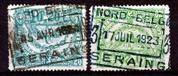"""TR 102a+ 102 -  """"NORD-BELGE - SERAING"""" 2 & 3 - (ref. ZE-33.604) - 1915-1921"""