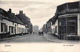 Belgique - Boussu - La Rue Royale - Boussu