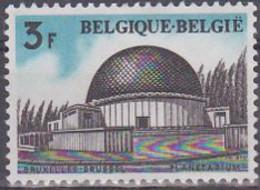 Belgien 1974. Achitektur: Planetarium Brüssel, Mi 1770 Gebraucht - Usados