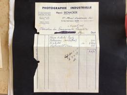 Algérie: Facture Commerciale à Entête Judaïca - Alger 1957 - Ambachten