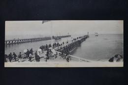 FRANCE - Carte Postale En 2 Volets De Trouville - Les Jetées Au Moment De La Marée - L 87598 - Trouville
