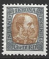 Iceland Mh * 1902 6.5 Euros - Neufs