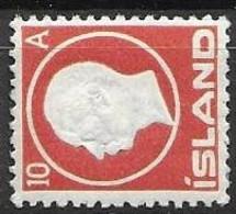 Iceland Mh * 1912 30 Euros - Nuevos