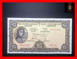 Ireland Republic  5 £  10.1.1975  P.  65   VF - Ireland